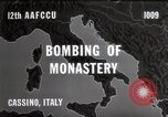 Image of Bombing of Monastery Cassino Italy, 1944, second 6 stock footage video 65675067747
