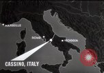 Image of Bombing of Monastery Cassino Italy, 1944, second 9 stock footage video 65675067747