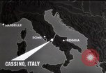 Image of Bombing of Monastery Cassino Italy, 1944, second 10 stock footage video 65675067747