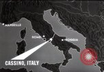 Image of Bombing of Monastery Cassino Italy, 1944, second 11 stock footage video 65675067747