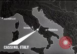 Image of Bombing of Monastery Cassino Italy, 1944, second 12 stock footage video 65675067747