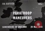 Image of Paratroopers Maneuver England, 1944, second 1 stock footage video 65675067748