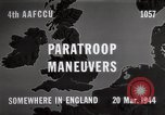 Image of Paratroopers Maneuver England, 1944, second 4 stock footage video 65675067748