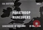 Image of Paratroopers Maneuver England, 1944, second 5 stock footage video 65675067748
