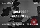 Image of Paratroopers Maneuver England, 1944, second 7 stock footage video 65675067748