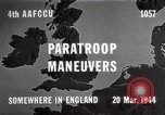Image of Paratroopers Maneuver England, 1944, second 9 stock footage video 65675067748