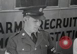 Image of draftees trained United States USA, 1944, second 1 stock footage video 65675067752