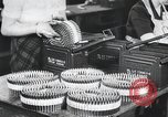 Image of War equipment manufacturing World War 2 United States USA, 1944, second 8 stock footage video 65675067761
