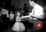 Image of polio vaccination United States USA, 1955, second 3 stock footage video 65675067765