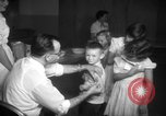 Image of polio vaccination United States USA, 1955, second 11 stock footage video 65675067766