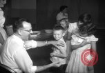 Image of polio vaccination United States USA, 1955, second 12 stock footage video 65675067766