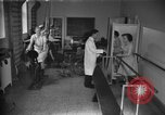 Image of patients treated United States USA, 1956, second 1 stock footage video 65675067770