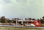 Image of gas station Philadelphia Pennsylvania USA, 1958, second 2 stock footage video 65675067782