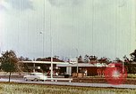 Image of gas station Philadelphia Pennsylvania USA, 1958, second 3 stock footage video 65675067782
