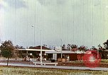 Image of gas station Philadelphia Pennsylvania USA, 1958, second 5 stock footage video 65675067782
