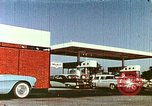 Image of gas station Philadelphia Pennsylvania USA, 1958, second 11 stock footage video 65675067782