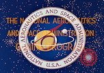 Image of Gemini Agena Target Vehicle Sunnyvale California USA, 1963, second 6 stock footage video 65675067786
