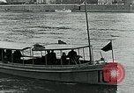 Image of US Army forces end of World War 1 at Deutsches Eck Koblenz Germany, 1918, second 6 stock footage video 65675067803