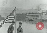 Image of US Army forces end of World War 1 at Deutsches Eck Koblenz Germany, 1918, second 9 stock footage video 65675067803