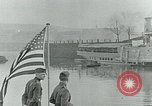 Image of US Army forces end of World War 1 at Deutsches Eck Koblenz Germany, 1918, second 10 stock footage video 65675067803