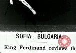 Image of Ferdinand I Bulgaria, 1916, second 1 stock footage video 65675067805