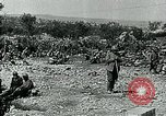 Image of Italian troops advance during World War I European Theater, 1916, second 9 stock footage video 65675067809