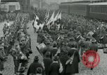 Image of American soldiers arrive home on Leviathan end World War 1 United States USA, 1918, second 9 stock footage video 65675067810