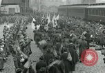 Image of American soldiers arrive home on Leviathan end World War 1 United States USA, 1918, second 10 stock footage video 65675067810