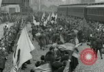 Image of American soldiers arrive home on Leviathan end World War 1 United States USA, 1918, second 12 stock footage video 65675067810