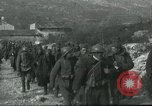 Image of Austro-Hungarian prisoners of Italians near the Carso Italy, 1916, second 2 stock footage video 65675067811