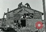 Image of Belgian refugees and rebuilding at end of World War 1 Belgium, 1918, second 3 stock footage video 65675067812
