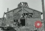 Image of Belgian refugees and rebuilding at end of World War 1 Belgium, 1918, second 5 stock footage video 65675067812