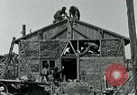 Image of Belgian refugees and rebuilding at end of World War 1 Belgium, 1918, second 6 stock footage video 65675067812
