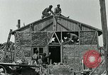 Image of Belgian refugees and rebuilding at end of World War 1 Belgium, 1918, second 8 stock footage video 65675067812