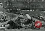 Image of Road construction to support Allied offensive World War I Alsace France, 1918, second 3 stock footage video 65675067813