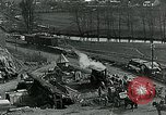 Image of Road construction to support Allied offensive World War I Alsace France, 1918, second 4 stock footage video 65675067813