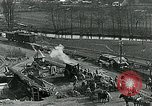 Image of Road construction to support Allied offensive World War I Alsace France, 1918, second 6 stock footage video 65675067813