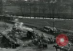 Image of Road construction to support Allied offensive World War I Alsace France, 1918, second 7 stock footage video 65675067813