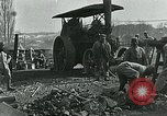 Image of Road construction to support Allied offensive World War I Alsace France, 1918, second 8 stock footage video 65675067813