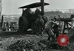Image of Road construction to support Allied offensive World War I Alsace France, 1918, second 9 stock footage video 65675067813