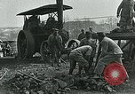 Image of Road construction to support Allied offensive World War I Alsace France, 1918, second 11 stock footage video 65675067813