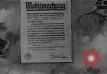 Image of Poster announcing Mobilization Berlin Germany, 1914, second 1 stock footage video 65675067821