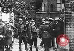 Image of Poster announcing Mobilization Berlin Germany, 1914, second 4 stock footage video 65675067821