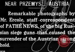 Image of Russian cavalry demonstrating a charge Przemysl Galicia Austria, 1914, second 1 stock footage video 65675067824