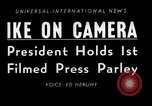 Image of Press conference Washington DC USA, 1955, second 6 stock footage video 65675067830