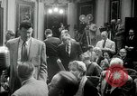 Image of Press conference Washington DC USA, 1955, second 9 stock footage video 65675067830