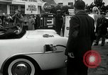 Image of Vice President Richard Nixon pumps gas for March of Dimes Washington DC USA, 1955, second 11 stock footage video 65675067831