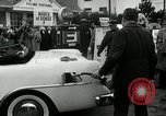 Image of Vice President Richard Nixon pumps gas for March of Dimes Washington DC USA, 1955, second 12 stock footage video 65675067831
