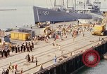 Image of American sailors San Francisco Bay California USA, 1968, second 4 stock footage video 65675067895