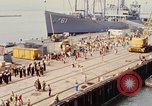 Image of American sailors San Francisco Bay California USA, 1968, second 5 stock footage video 65675067895